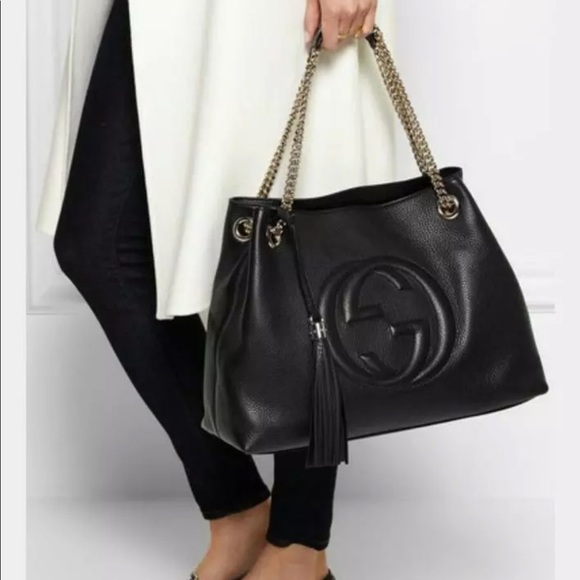 76afe9d1d Gucci Bags   Authentic Soho Large Tote Bag   Poshmark
